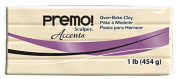 Sculpey Premo Polymer Art Clay Accents, 0.5kg, Translucent