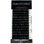 EMILYSTORES Eyelash Extensions Individual Loose Signature Mink Eyelash B Curl Thickness 0.20mm Length 8mm 9mm 10mm 12mm 14mm Silk Lashes Assort Mixed In One Tray