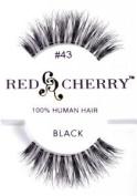 Red Cherry False Eye Lashes #43
