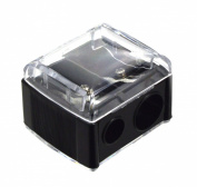 Trim Silk 2-WAY Pencil Sharpener. Cosmetic Sharpener. 1Ct.