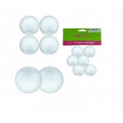 Large Foam Craft Balls - Perfect for School and Homework Art Projects