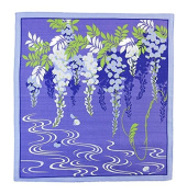 FUROSHIKI- Japanese Traditional Wrapping Cloth (Flower-scene