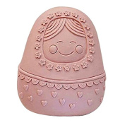 Lingmoldshop Russian Doll Craft Art Silicone Soap mould DIY Candy mould Craft Moulds Handmade Candle moulds