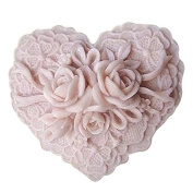 Lingmoldshop Rose Lace S071 Craft Art Silicone Soap mould DIY Candy mould Craft Moulds Handmade Candle moulds