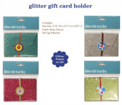 Glitter Gift Card Holder Box For Wedding, Shower, Reception, Birthday