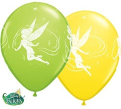 Disney Tinker Bell 28cm Qualatex Latex Balloons x 10