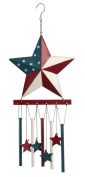 Miles Kimball Barn Star Wind Chime by Maple Lane Creations