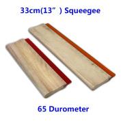"65 Duro Durometer - Silk Screen Printing Squeegee Blade 13"""