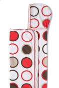 Cozibug Baby Cozi Stroller Blanket, Strawberry (nb-5), Red/ Brown