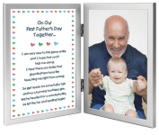 """""""On Our First Father's Day Together"""" Grandfather Gift from His Baby Grandchild - Add Photo"""