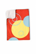 Cozibug Baby Earth Stroller Blanket, Red, Red