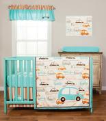 Trend Lab Vroom La La 3 Piece Crib Bedding Set