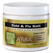 Abra Herbal Hydrotherapy Therapeutic Baths, 500ml jar, Cold & Flu