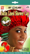 Beauty Town Satin Lined Shower Cap
