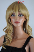 Epic Cosplay Hestia Caramel Blonde Curly Wig 60cm