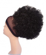 Afro 1 Drawstring (1B Off Black) - Biba 365 Platinum Synthetic Hair Ponytail