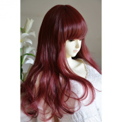 "Liz Wig Sexy Heat Friendly Long Curly Wavy Lolita Cosplay Party Hair Wig 26"" 65cm"