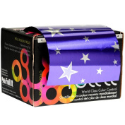 Foil It Paparazzi Purple Stars Large Foil Roll - 490m