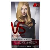 Vidal Sassoon Salonist Hair Colour Permanent Colour Kit, 8/3 Medium Gold Blonde