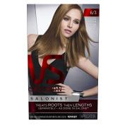 Vidal Sassoon Salonist Hair Colour Permanent Colour Kit, 6/3 Light Gold Brown