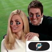 Party Animal NFL Miami Dolphins Eye Strips