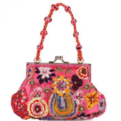Women's Fashion Handbag Arts and Crafts Beaded Bag Party Bag_0131