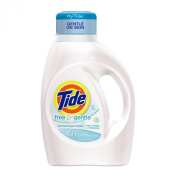 Tide Free and Gentle, Free of Dyes and Perfumes, 1480ml