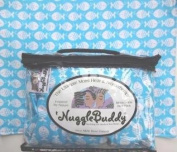 "'NUGGLEBUDDY NEW! Microwavable Moist Heat & Aromatherapy Organic Rice Pack. Cosy Flannel, SO Adorable ""GUPPY"" Fabric with SEA LAVENDER Aromatherapy or UNSCENTED! The Perfect Gift Idea! USPS Priority Express Shipping Available!"