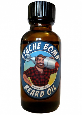 Stache Bomb Beard Oil- Beard Oil From Maine