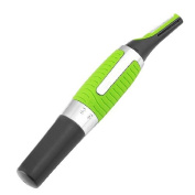 All-In-One Personal Ultra Trimmer with Built-in LED Light, 2 Comb Attachments and 1 AAA Battery Included!