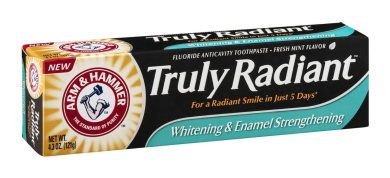 ARM & Hammer Truly Radiant Toothpaste 130ml (4 Pack)