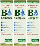 Nature's Bounty Vitamin B Complex Sublingual Liquid, 60ml
