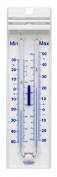 H-B DURACB60761-0000 Liquid-In-Glass Maximum/Minimum Thermometer; -35 to 50°C (-30 to 120°F), Organic Liquid Fill