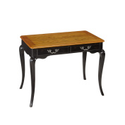 Home Styles The French Countryside Oak and Rubbed Black Student Desk