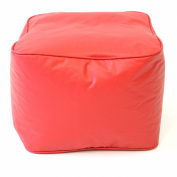 Gold Medal Ottoman - Red