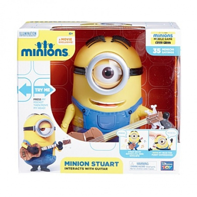 Despicable Me Talking Minions Toys - Bob and Stuart
