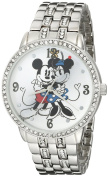 Women's Disney Minnie and Mickey with Alloy Case - Silver