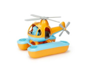 Frontier Natural Products 228355 Green Toys Bath & Water Play Seacopter - Orange And Blue