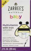 Zarbee's Naturals Multi Vitamin Baby Drops - 60ml