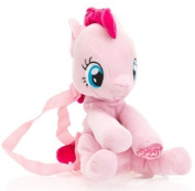 My Little Pony Girl's Plush Backpack - Pinkie Pie