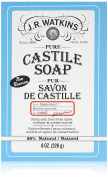 J.R. Watkins Pure Castile Bar Soap, Peppermint, 240ml