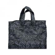 Nixi by Bumkins Recycled Fabric Cosmetic Bag - Flint