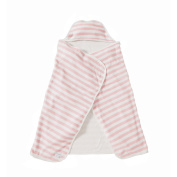 Burt's Bees Baby Organic Striped Hooded Toddler Towel - Blossom