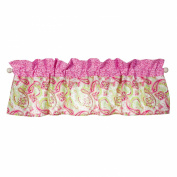 Window Valance Trend Lab Pink Elephants