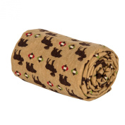 Trend Lab Northwoods Animals Deluxe Swaddle Blanket
