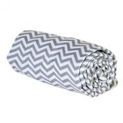 Trend Lab Grey Chevron Deluxe Swaddle Blanket