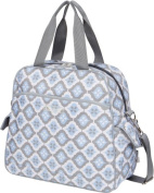 The Bumble Collection Brittany Backpack Nappy Bag - Sky Blue