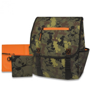 Disney Mickey Mouse Camo Nappy Bag Backpack - Green