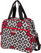 The Bumble Collection Brittany Backpack Nappy Bag - Royal Ruby