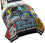 Star Wars Classic Character Grid 160cm x 220cm Twin Reversible Comforter.